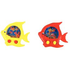 """Fish Water Games, Assorted Colors, 4-3/8"""" W x 4-5/8"""" H x 3/4"""" D, 12/Pkg"""
