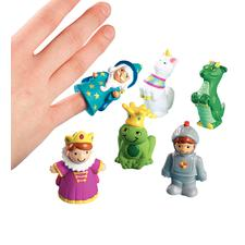 "Fairy Tale Finger Puppets, Assorted, 1"" W x 2"" H x 1-1/2"" D, 24/Pkg"