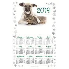 "Calendar Magnet, 4"" x 6"", 100/Pkg"