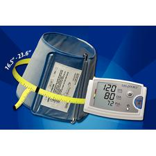 "Lifesource® Extra Large Arm Blood Pressure Monitor, 6.4"" W x 2.4"" H x 4.4"" D"