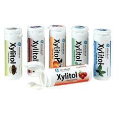 Miradent Xylitol Chewing Gum – 30 Pieces/Vial, 12 Vials/Pkg