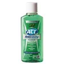 ACT® Alcohol Free Anticavity Fluoride Rinse – 1 oz Bottle, Mint, 48/Pkg