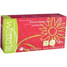 Blossom® Green Nitrile Exam Gloves, 100/Box