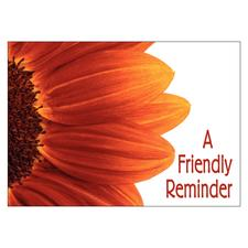 Floral 4-Up Laser Postcards, 100/Pkg