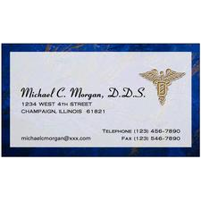 "Business Cards, Personalized, Full-Color Designs, 3-1/2""  x 2"", 500/Pkg"