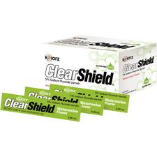 Kolorz® ClearShield™ 5% Sodium Fluoride Varnish