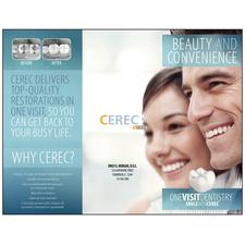 "CEREC Brochures, Nonpersonalized, 3-5/8"" W x 8-1/2"" H, 50/Pkg"