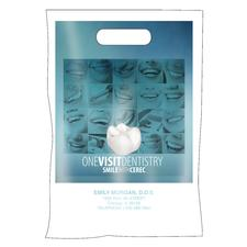 "Full-Color CEREC Supply Bag, Personalized, 9"" W x 13"" H, 100/Pkg"