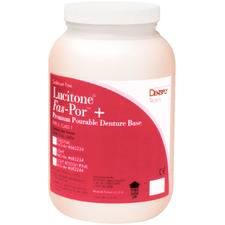 Lucitone® Fas-Por™ + Premium Pourable Denture Base - Dark Pink, 32 Unit Powder, 640 g