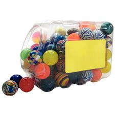 Ball Mix Canister, 100 Assorted Pieces/Canister