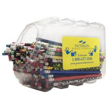 Pencil Mix Canister, 348 Pieces/Canister