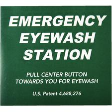 Emergency Eyewash Stations Labels and Signage