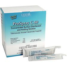 ProSpray C-60™ Concentrated Surface Disinfectant and Holding Solution, Operatory Pack