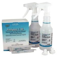 ProSpray C-60™ Concentrated Surface Disinfectant and Holding Solution, Intro Kit