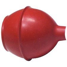 Seringue à fragments et accessoires, bulbe rouge