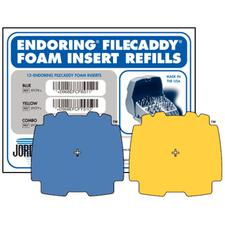 Endoring® FileCaddy™ Foam Inserts, 12/Pkg
