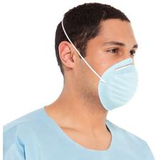 Standard Cone Mask with Headband – Blue, 50/Box, 6 Boxes/Case