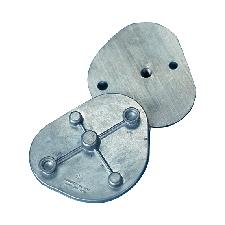 Metal Articulator Mounting Plates – Standard, 1 Pair