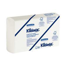 "Kleenex® Slimfold™ Towels – White, 7.5"" x 11.6"", 90 Sheets/Pkg, 24 Pkg/Case"