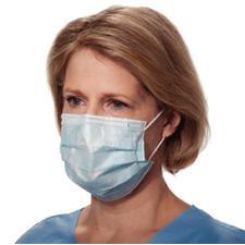 Value Select Procedure Face Masks – Blue, 50/Pkg