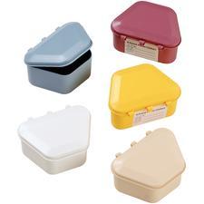 """Patterson® Plastic Denture Box – 2-1/2"""" W x 1-3/4"""" D x 3-1/2"""" L, 12/Pkg"""