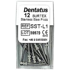 SURTEX™ Surface Treated Post Refill – Stainless Steel, Long, Length 11.8 mm, 12/Pkg