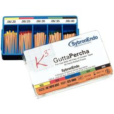 K3/K3XF Gutta Percha Points – 0.06 Taper, 50/Pkg