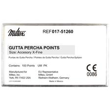 Gutta Percha Accessory Points – 100/Pkg