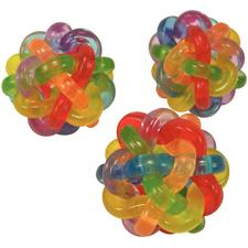 Colorful Intertwined Ball, Multi-Colored, 1-1/2