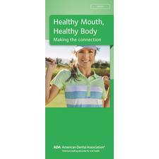"""ADA® Brochures, 6 Panel, 3-7/8"""" W x 9"""" H, 50/Pkg"""