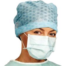 BARRIER® Earloop Surgical Face Masks – ASTM Level 1, Extra Protection, Irritant Free, Anti-Fog, 50/Pkg