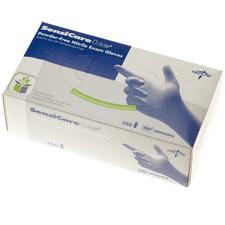 Sensicare Ice Blue Nitrile Exam Gloves – Latex Free, 250/Box