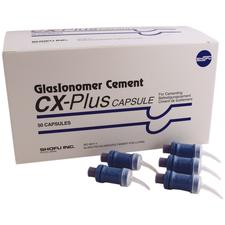 GlasIonomer Cement CX-Plus Capsules, 50/Pkg