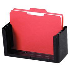 "File Holder, Adjustable, Black, 12-1/2"" - 15-3/4"" W x 6-1/8"" H x 5-1/2"" D"