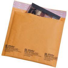 "Jiffylite CD/DVD Mailer, 7-1/4"" x 8"", 25/Pkg"