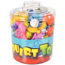 Squirt Toy Assortment, 108 Pieces/Canister