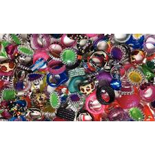 Ring Assortment, 300 Pieces/Pkg