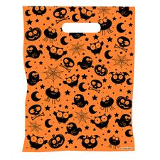 "Scatter Bag Halloween Supply Bags, 7-1/2"" W x 10"" H, 100/Pkg"
