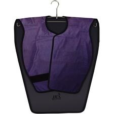 Lead-Free X-ray Aprons – Reversible Adult Panoramic Poncho, Charcoal/Violet