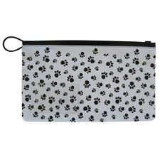 "Paw Print Zip Case, 10"" W x 6"" H, 48/Box"