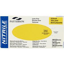 Patterson® Nitrile Exam Gloves, 100/Box