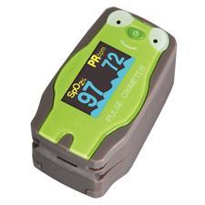 "Pediatric Finger Pulse Oximeter, 2.25"" W x 1.35"" H x 1.30"" D"