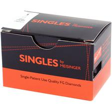 Singles Disposable Diamonds – FG, 25/Pkg
