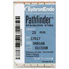 Pathfinder™ Stainless Steel Endo Handfiles – 6/Pkg