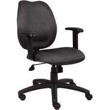 "BOSS Ratchet Back Molded Foam Task Chair, 27"" W x 36.5"" - 41"" H x 27"" D"