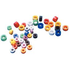 Code anneaux – 100/emballage, assorties