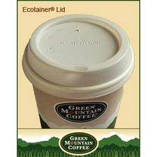 Green Mountain Domed Lids for Paper Cups, 1 Size Fits All, 1200/Pkg