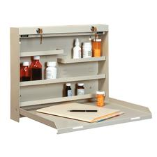 "Datum DrugStor™ With 2 Key Locks, 20"" W x 16-3/8"" H x 3-3/8"" D"