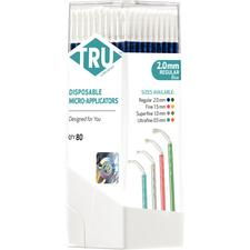 TRU™ By Microbrush® Micro-Applicators – 80/Pkg