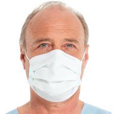Tecnol So Soft Fog-Free Procedure Masks – White, 50/Box, 10 Boxes/Case